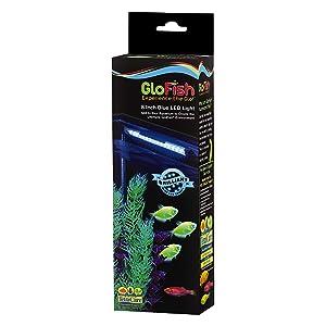 GloFish blue LED 8-inch fixture