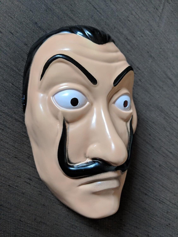 Amazon.com: Official | La Casa De Papel | Money Heist | Realistic Movie Prop Face Mask: Clothing
