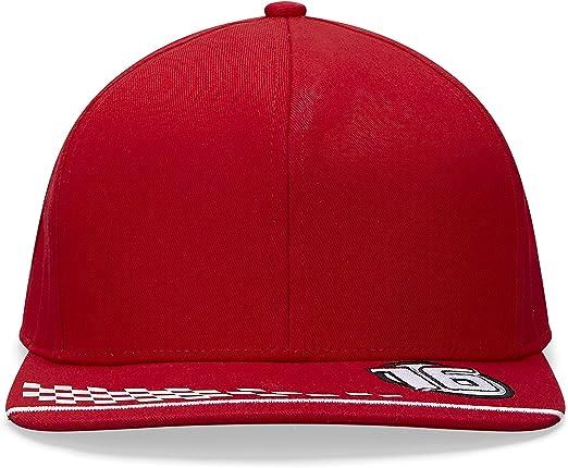 One size Charles Leclerc Unisex Formula 1 Scuderia Ferrari 2020 Driver Cap Red