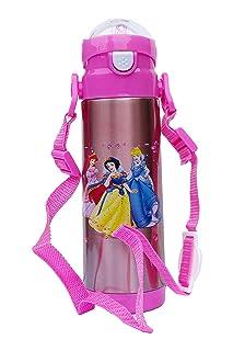 Character - Botella de agua para niños con diseño de princesa Disney (500 ml) Tong Lok