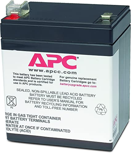 BE500C Battery UPSBatteryCenter Compatible Replacement for APC Back-UPS ES 500VA