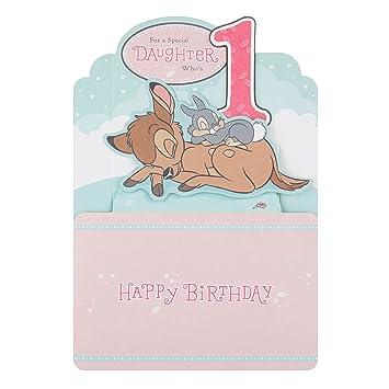 Hallmark Disney Baby 1 Geburtstag Karte Fur Tochter Medium