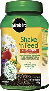 Miracle-Gro Shake 'N Feed All Purpose Plant Food, 1 lb.
