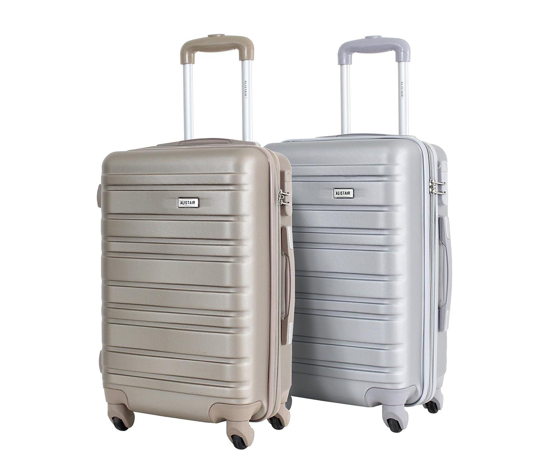 Set de 2 Bagages Cabines 55cm - ALISTAIR Escape - ABS Ultra légères et résistantes - 4 Roues - Marque française