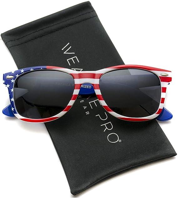 wearme Pro - Bandera de polarizadas Wayfarer Estilo gafas de ...