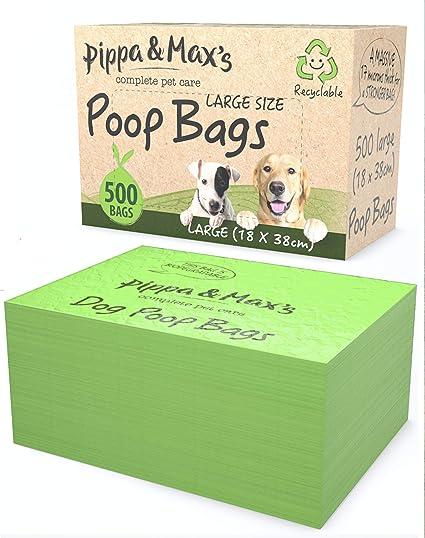 Pippa & Max Bolsas reciclables para Caca de Perro (500 ...