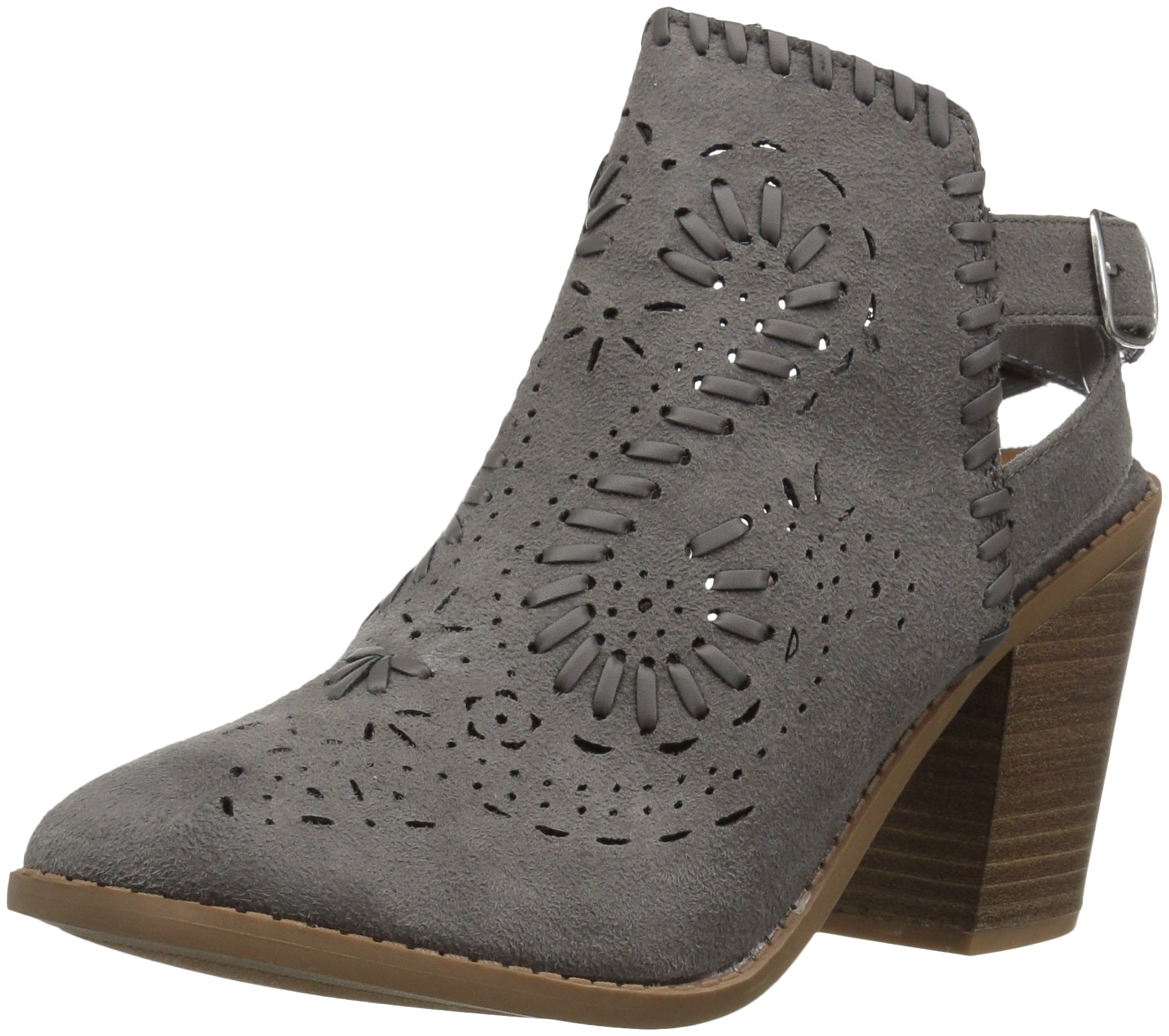 Sugar Women's SGR-Realness Ankle Boot, Grey Fabric, 10 Medium US