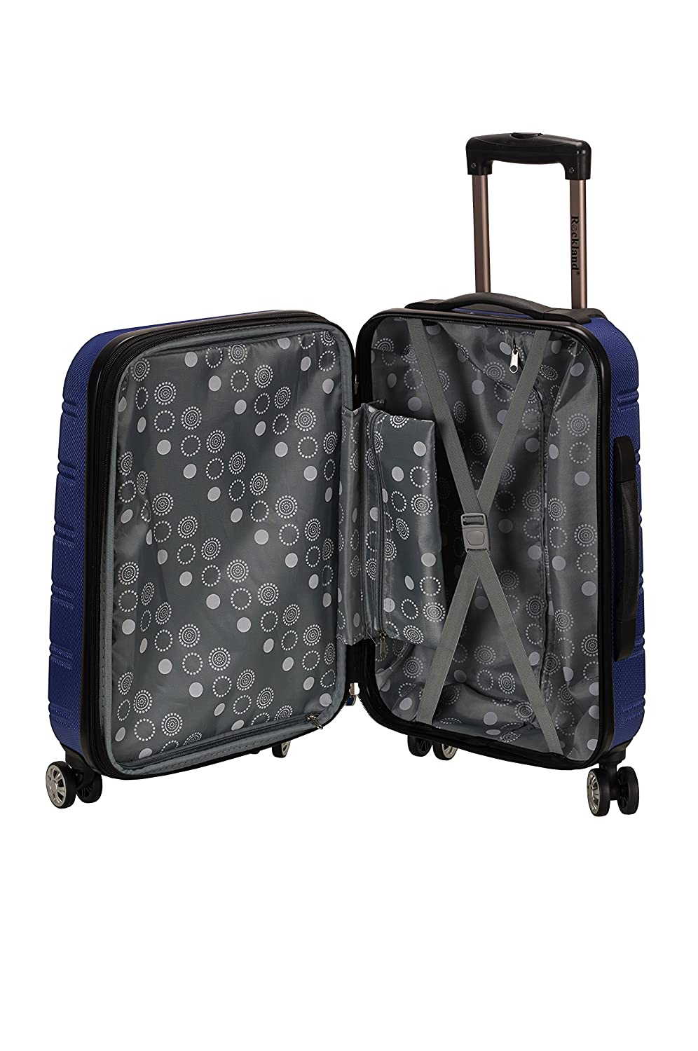 Blue Rockland Luggage 20 Inch 28 Inch 2 Piece Expandable Spinner Set One Size Fox Luggage F225