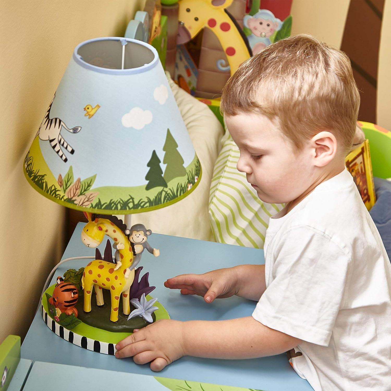 Fantasy Fields Childrens Sunny Safari Nachttisch LED Tischlampe TD-0038AE