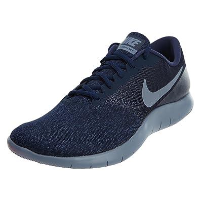 Mens Nike Flex Contact Running Shoe, Obsidian/Dark Sky