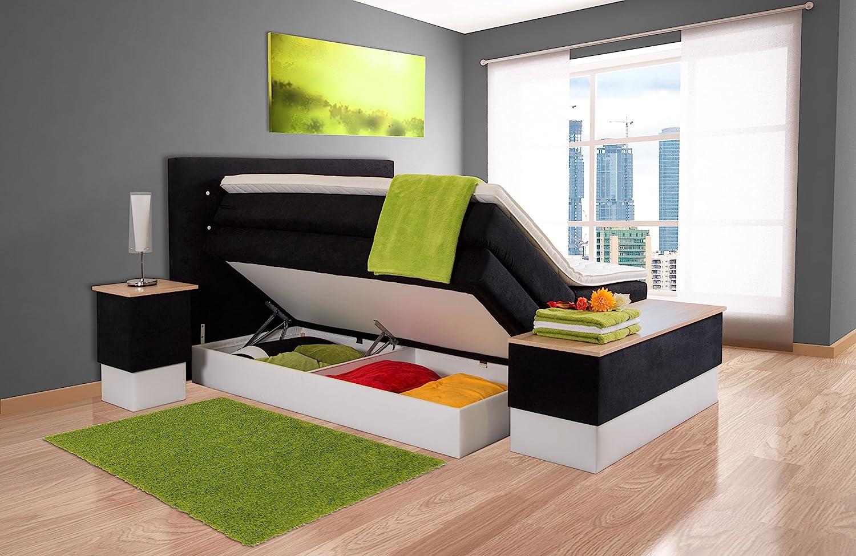 boxspringbett mit bettkasten aufbau. Black Bedroom Furniture Sets. Home Design Ideas