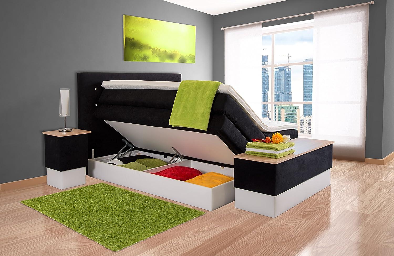 boxspringbett aida sb auch mit bettkasten oder elektrisch. Black Bedroom Furniture Sets. Home Design Ideas