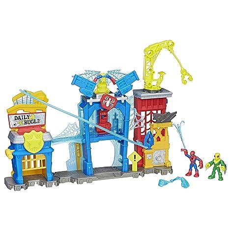 Amazon.com: Playskool Heroes Marvel Super Hero Adventures Spider-Man on