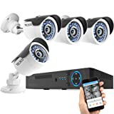 Amazon Price History for:TECBOX Camera Security System 4 Channel 720P AHD Home Video Surveillance Equipment DVR Recorder No Hard Drive with 4 HD 1.3MP Waterproof Night Vision Indoor Outdoor CCTV System