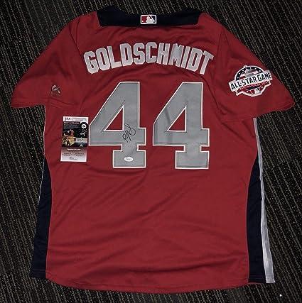 88eeb3ff Paul Goldschmidt Autographed Signed Memorabilia 2018 All Star Jersey ...