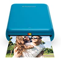 Polaroid ZIP Wireless Mobile Photo Mini Printer – Compatible w/ iOS & Android, NFC & Bluetooth Devices - Blue