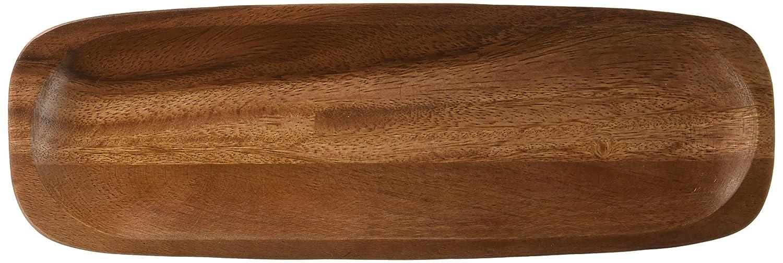Noritake Kona Wood 12-Inch Rectangular Platter, Set of 2 Noritake CO. INC. - DROPSHIP W001 676B