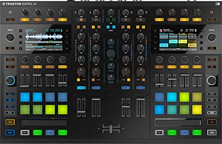 front facing native instruments traktor kontrol s8