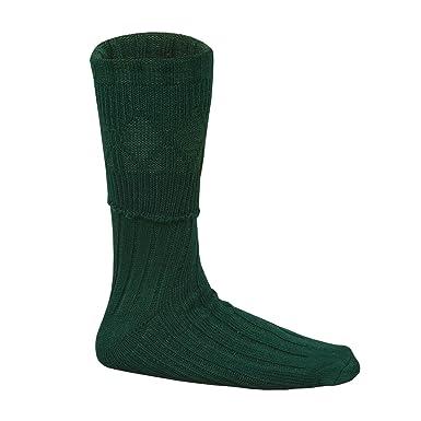 Verde Hombre Escocesa Montaña Uso Kilt Hose Calcetines S/M/L/XL: Amazon.es: Ropa y accesorios