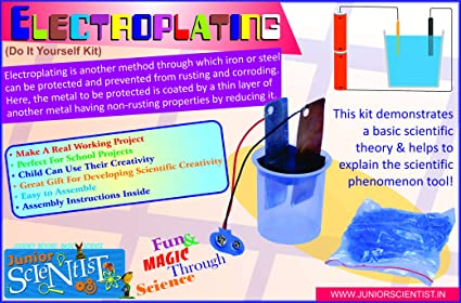 Buy junior scientist electroplating kit online at low prices in junior scientist electroplating kit solutioingenieria Image collections