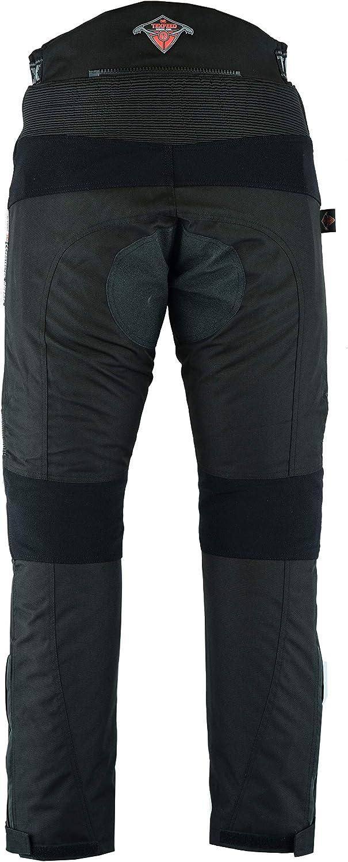 in 4 Farben und verschiedenen Gr/ö/ßen Wasserdichte Motorradhose Mit Schutz Texpeed XTRA