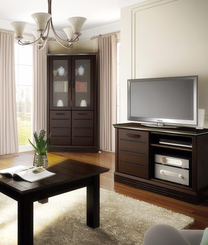 Schön Hochwertige Wohnwand Dekoration Von Schrankwand Wohnzimmer Möbel Lagos Iii Venge Led