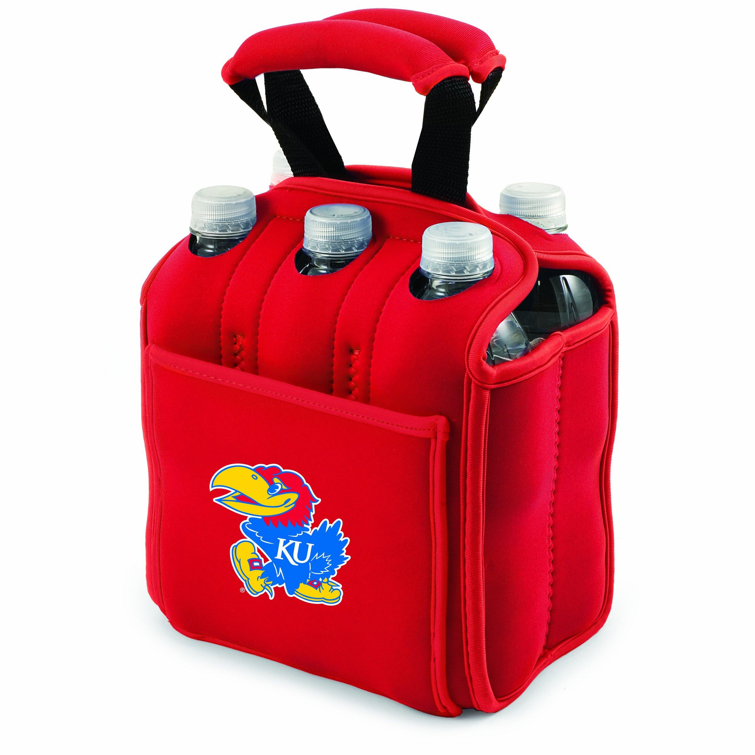 NCAA Kansas Jayhawks Six Pack Cooler Tote