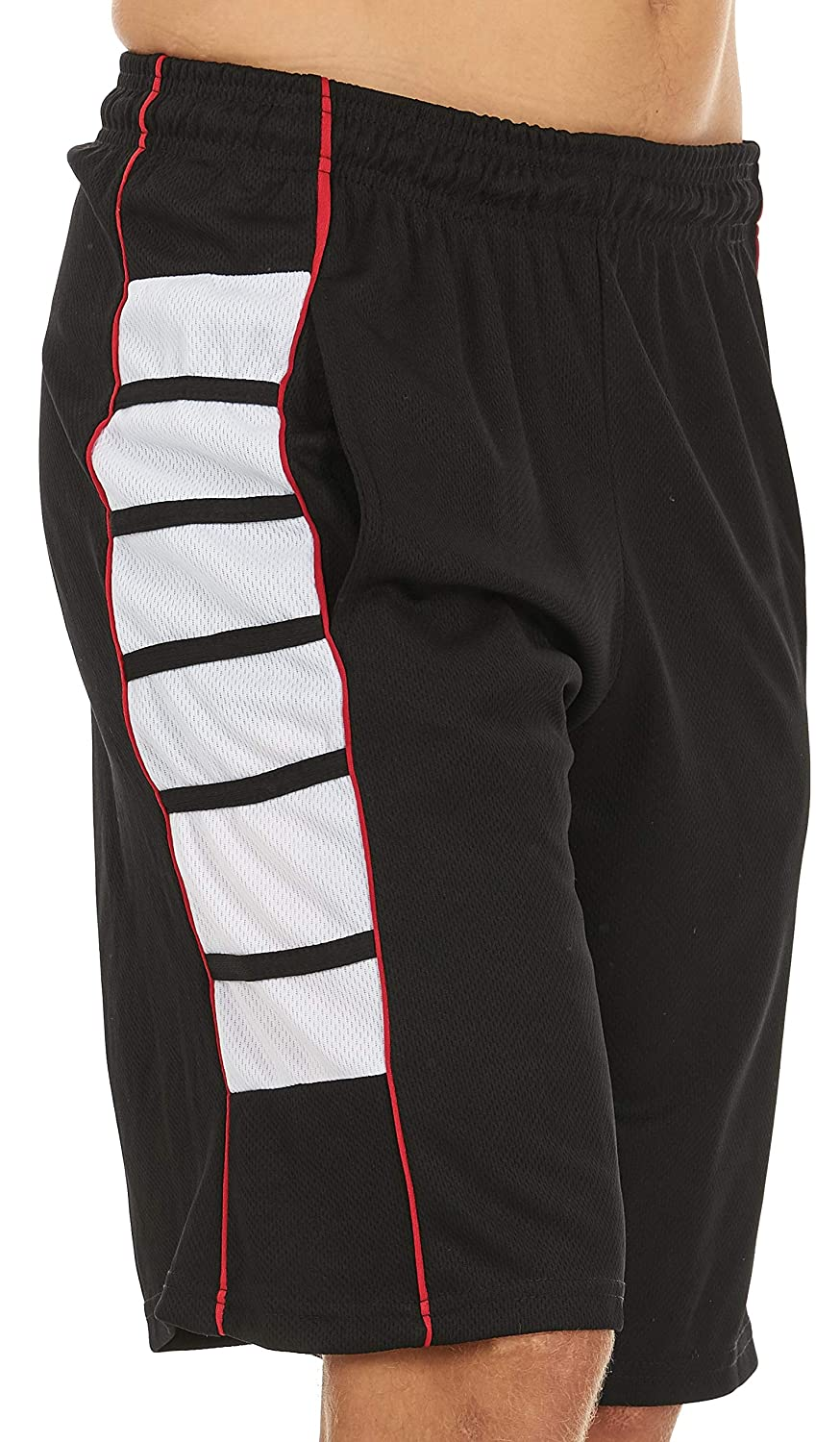 Unique Styles Mens Athletic Basketball Long Shorts for Men with Pockets