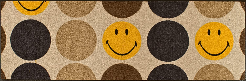 Wash&Dry Wash&Dry Wash&Dry Fußmatte Smileys - New Pop 60x180 cm 47cf95