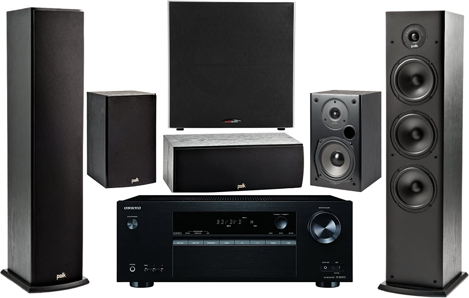Onkyo 10.10 -Channel Wireless Bluetooth 10K 10D A/V Surround Sound Multimedia  Home Theater System