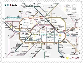 Argus Brillenputztuch Mikrofasertuch Motiv Bvg Berlin S U Bahn