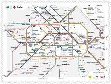 Argus Brillenputztuch Mikrofasertuch Motivbvg Berlin Su Bahn