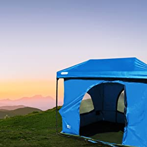 6. Standing Room Family Cabin Tent