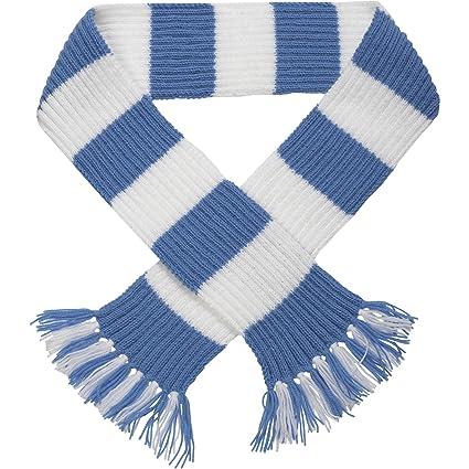 Premier League Striped Football Scarf Kit Knitting Pattern Wool