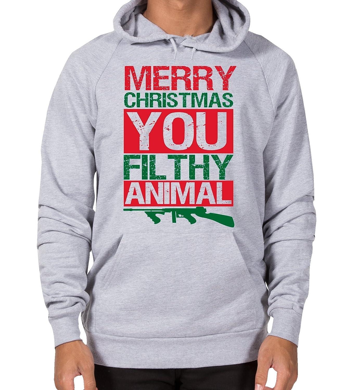Merry Christmas Animal - Funny Unisex Hoodie! Great Christmas Present!