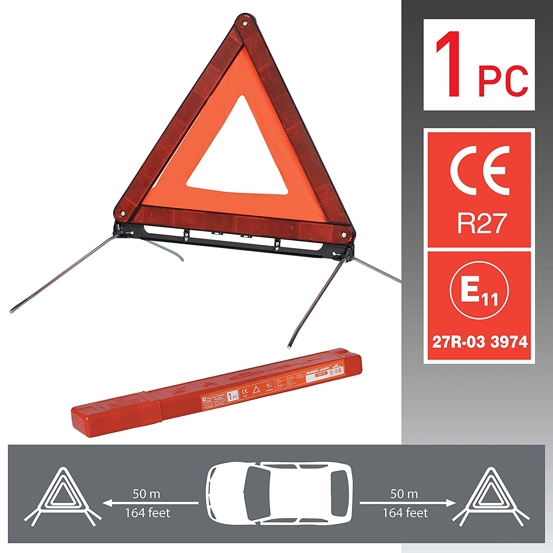 2 Kit Tri/ángulos 2 SUMEX 2707125 Emergencia + Chaleco En471