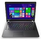 Lenovo IdeaPad 100 35,6 cm (14 Zoll HD TN) Notebook (Intel Celeron N2840, 2,58 GHz, 4 GB RAM, 500 HDD, Intel HD Graphics, DOS) schwarz