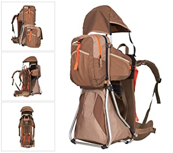 MONTIS Hike - Mochilas portabebés - 25 kg (Moca): Amazon.es: Deportes y aire libre