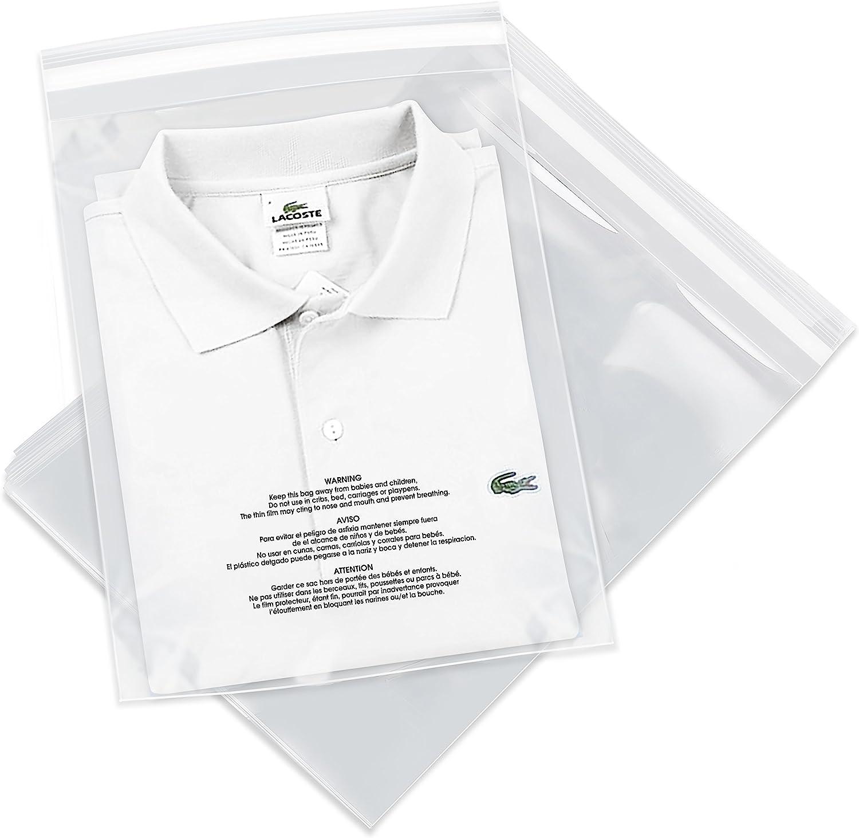 2 Mil 100-Pack x-PB3635-100 Bauxko 8 x 10 Reclosable Poly Bags
