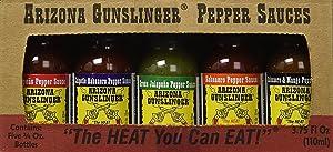 RetailSource Arizona Gunslinger Mini's Variety Hot Sauces - 0.75 oz, 5 pc