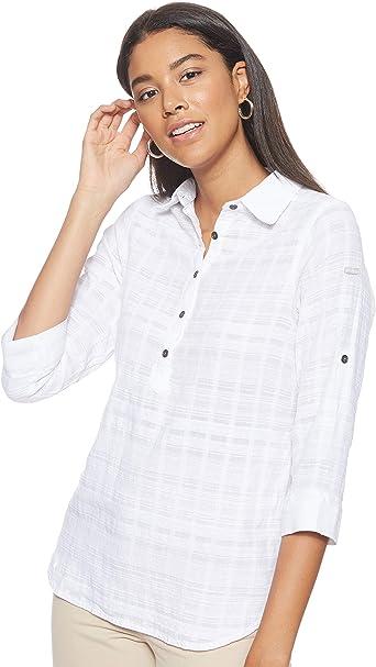 Columbia Summer Ease Popover Tunic - Camisa para Mujer. Mujer: Amazon.es: Ropa y accesorios
