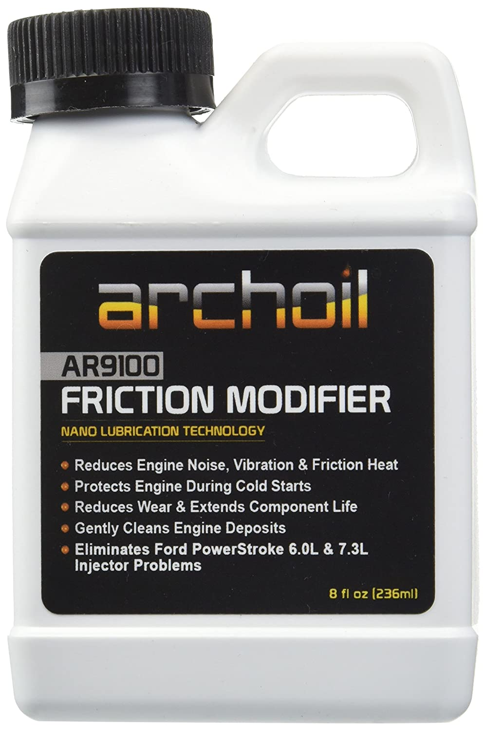 AR9100 (8 oz) Friction Modifier - Treats up to 8 quarts of engine oil Archoil AR9100-8