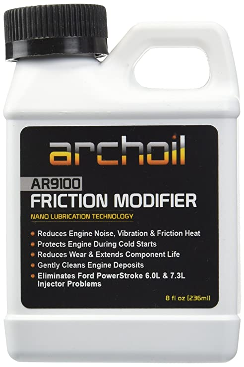 Archoil AR9100 (8 oz) Friction Modifier - Treats up to 8 quarts of Engine  Oil