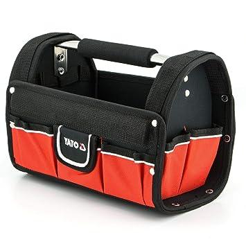 Yato - Bolsa para herramientas (9 compartimentos, 30,5 x 19 ...