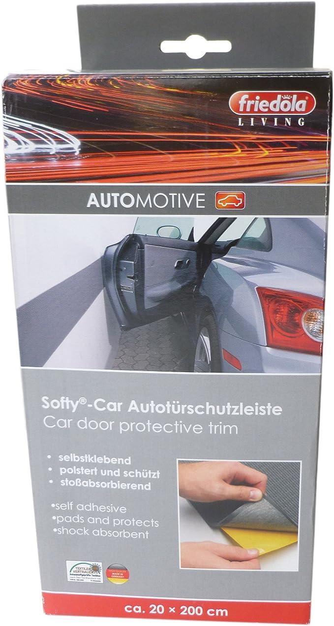 Autotürschutzleiste Türkantenschutz Autotür Garage 20 x 200 cm 2er Set