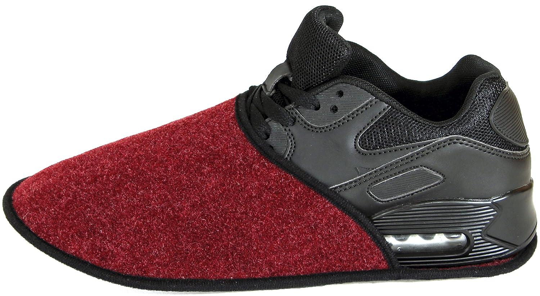 080f04e56d6c1 Sur-chaussons dIntérieur Légers pour Chaussures pantoufles musée Anthracite  éventuellement avec sans ABS ressenti unique