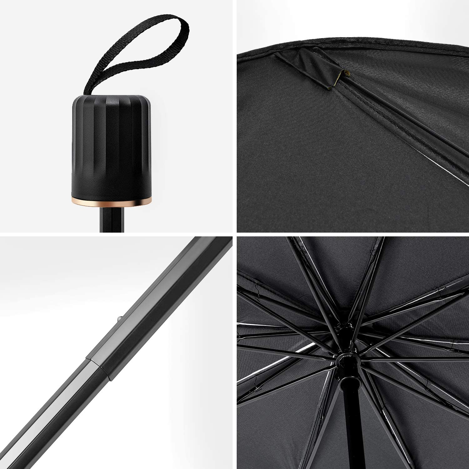 Car Windshield Sun Shade Foldable Sunshades Umbrella for Car Front Windshield Easy to Store and Use Protect Vehicle from UV Sun and Heat 31 x 57 inch Fits Windshields of Various Sizes