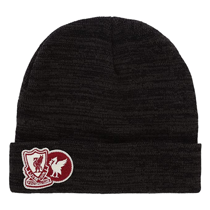 924d553f57b Image Unavailable. Image not available for. Color  Liverpool FC Grey Mens  Soccer Marl Beanie AW 18 19 LFC Official