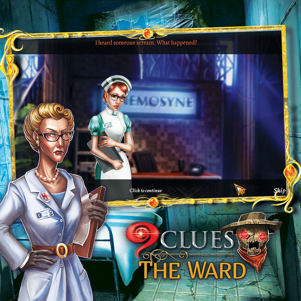 9 Clues 2: The Ward (Mystery Masters) Hidden Object Game [Download]