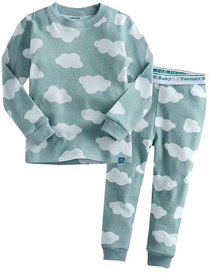 cf77addf151bb Vaenait Baby 12M-7T Kids Baby Boys 100% Cotton Sleepwear Pajama Set Boys  Collection